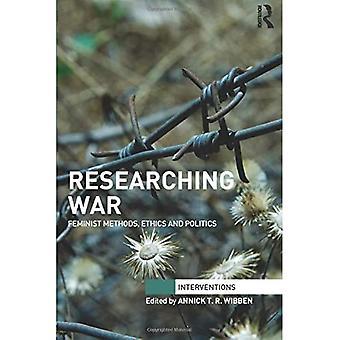 Recherche sur la guerre : méthodes féministes, éthique et politique (Interventions)
