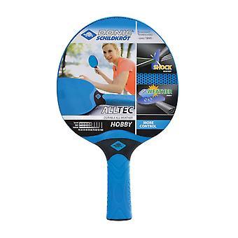 Donic Schildkrot Alltec Hobby Table Tennis Paddle Bat Torsion Resistant Racket