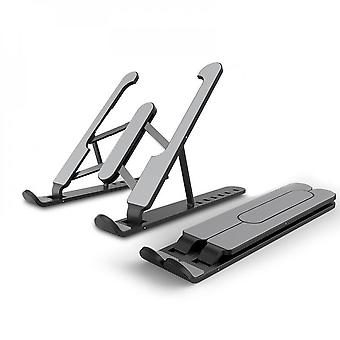 Laptop Lifting Device With Pink Laptop (abs + Aluminum Alloy + Storage Bag)computer Stainless Steel Stand