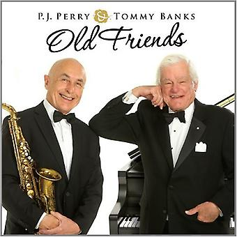 Perry, P.J./Banks, Tommy - Old Friends [CD] USA import