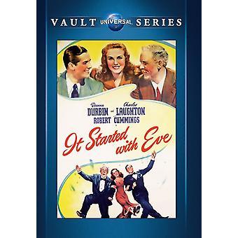Começou com importação EUA Eve [DVD]
