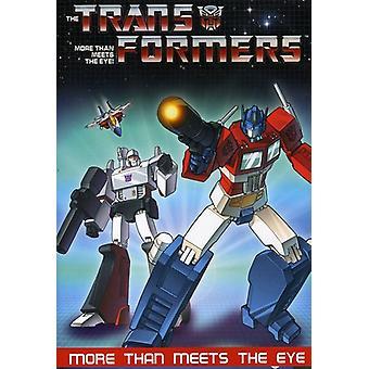 Transformers - mer enn møter øyet [DVD] USA importere