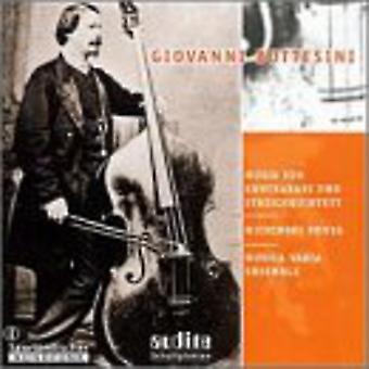 G. コントラバス ・弦楽五重奏曲 [CD] USA 輸入のボッテジーニ - ボッテジーニ: 音楽