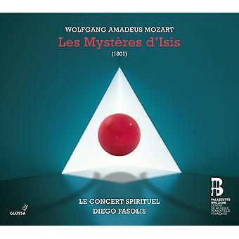 Mozart / Flemish Radio Choir / Concert Spirituel - Les Mysteres D'Isis [CD] USA import