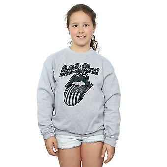 Rolling Stones Girls Monochrome American Tongue Sweatshirt