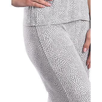 Slenderella Loungewear Ivory and Grey Pyjama Pant GL08714