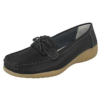 Ladies Annabelle Plus Comfort Collection Moccasins Nancy