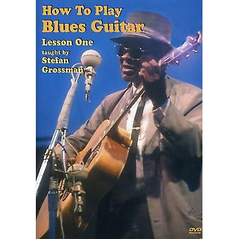 Stefan Grossman - Blues Guitar: How to Play Lesson One [DVD] USA import