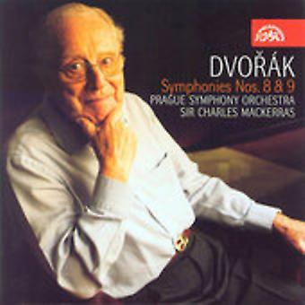 A. Dvorak - Dvor K: Symphonies Nos. 8 & 9 [CD] USA import