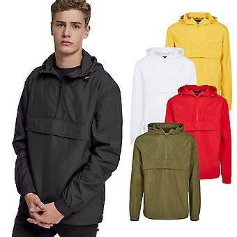 Urban classics - BASIC transition jacket windbreaker slip