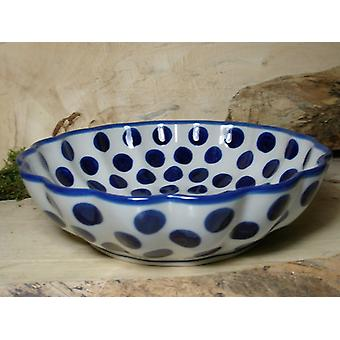 Dish, with a wavy margin, Ø 27.5 cm, height 7.5 cm, tradition 28, BSN 7914