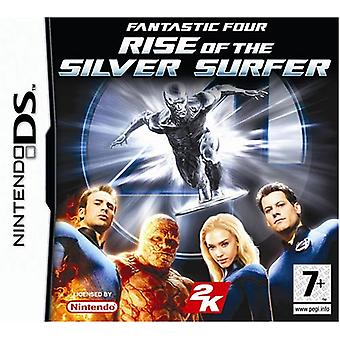Fantastic fyra Rise of the Silver Surfer (Nintendo DS)-fabriken förseglad