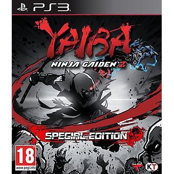 Yaiba Ninja Gaiden Z - Erikoispainos (PS3) - Uusi
