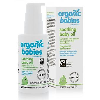 Green People Baby oil Without Perfume 100 ml