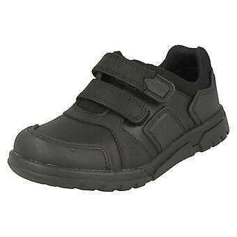 Boys Clarks Hook & Loop School Shoes Blake Street