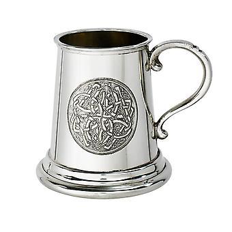 Celtic Circle Pewter Child's Tankard - � pint