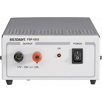 VOLTCRAFT FSP 1212 Bench PSU (fixed voltage) 11 - 15 V DC 12 A 180 W No. of outputs 1 x