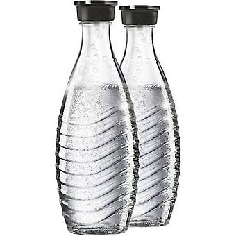 Sodastream Glass carafe 1047200490 Glassy incl. 2x glass carafe