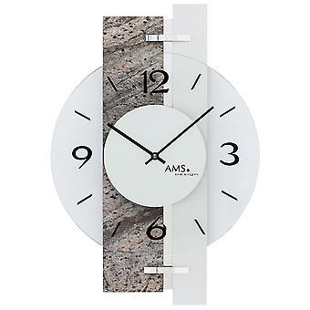 Horloge murale AMS - 9558