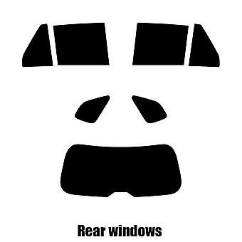 Pre cut fönstret nyans - Kia Rondo - 2007 till 2013 - bakre windows