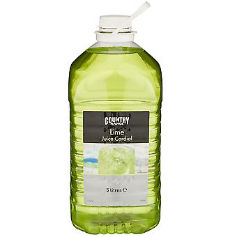 Country Range Lime Juice Cordial