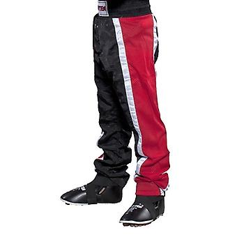Top Ten Adult  Mesh Kickboxing Pants Black/Red