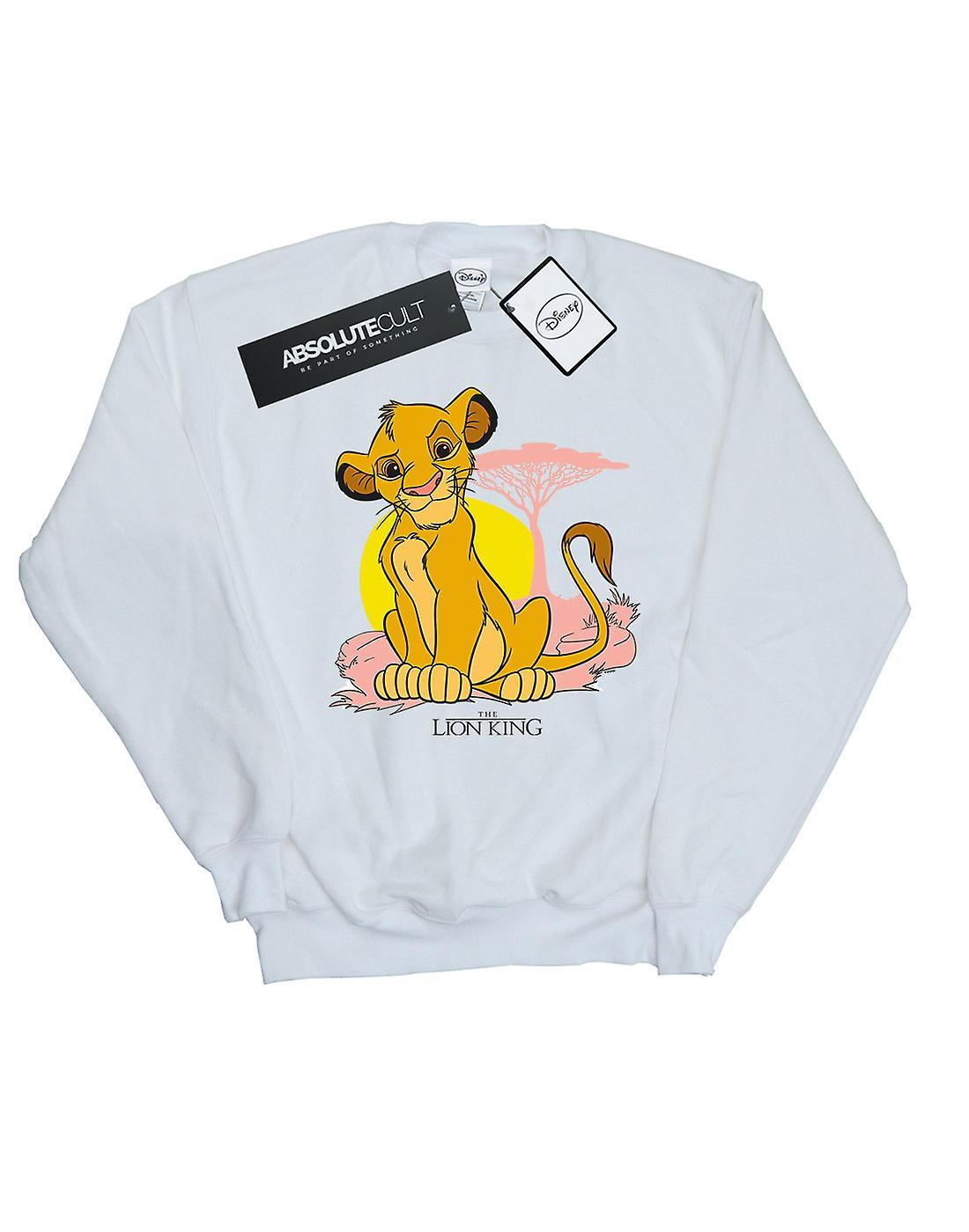 Disney Women's The Lion King Simba Pastel Sweatshirt