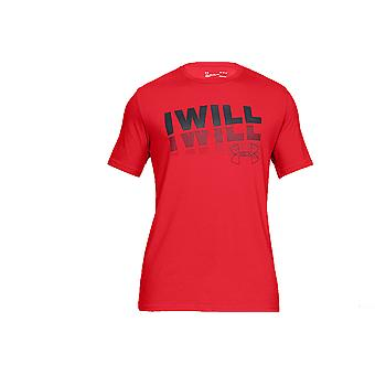 Under Armour I Will 2.0 Short Sleeve Tee 1329587-633 Mens T-shirt