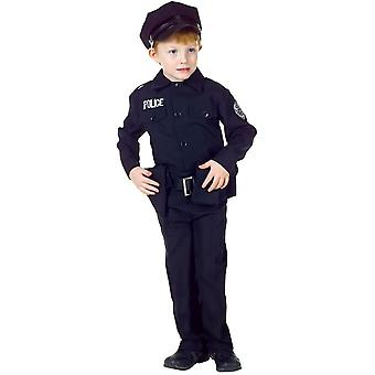 Police Man Child Costume