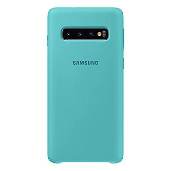 Samsung silicone couvercle vert pour Samsung Galaxy S10 G973F EF PG973TGEGWW sac protecteur housse