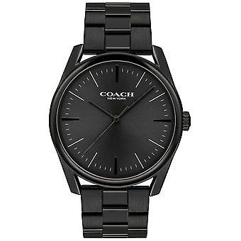 Coach Mens Modern Luxury Black Stainless Steel 14602403 Watch