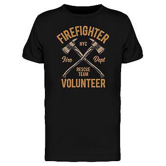 رجال الإطفاء المتطوعين مدينة نيويورك المحملة الرجال-الصورة عن طريق Shutterstock