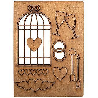 Espressioni Creative Art-Effex tavole amore manufatti