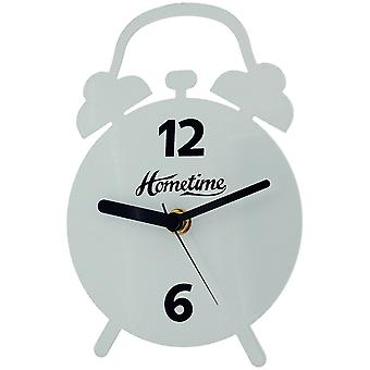 The Olivia Collection Hometime Quartz White Round Free Standing Clock TOC141