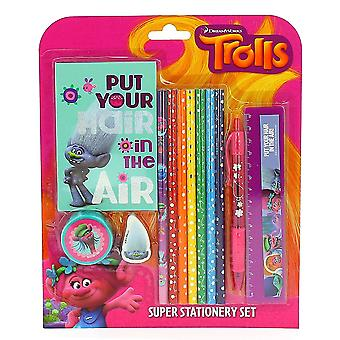 Trolls Movie Super Stationery Set