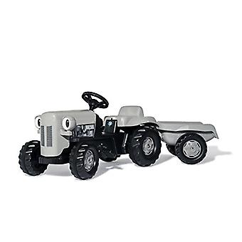 Grey Fergie Pedal Tractor and Trailer Grey Rolly