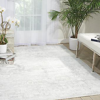 Desert Skies Hallway Runner Dsk02 By Kathy Ireland In Silver And Green