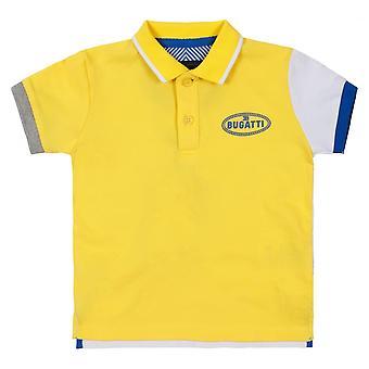 布加迪儿童皮韦龙马球衬衫