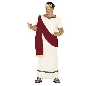 Mens romerske Cæsar Toga Fancy kjole kostyme