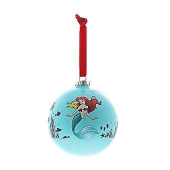 Disney lumoava kokoelma elämä on Bubbles Ariel ja kampela bauble