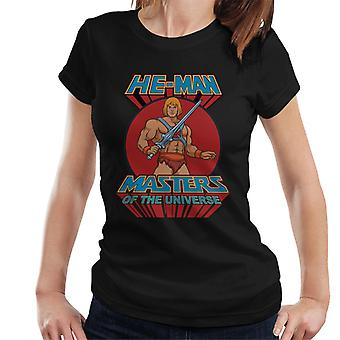 Masters Of The Universe He Man Retro Logo Women's T-Shirt