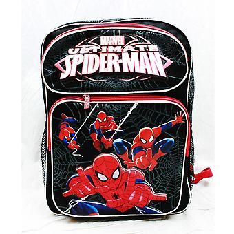 Backpack - Marvel - Spiderman Activity Black Large School Bag us24754