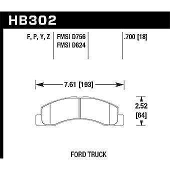 Hawk performance HB302Y. 700 LTS