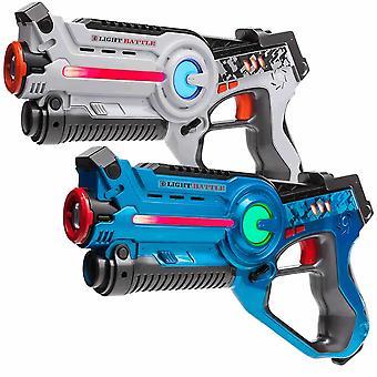 4 Laser Pistols (white, blue)