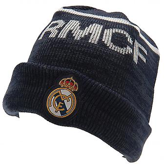 Real Madrid CF Tricoté Turn Up Beanie Hat