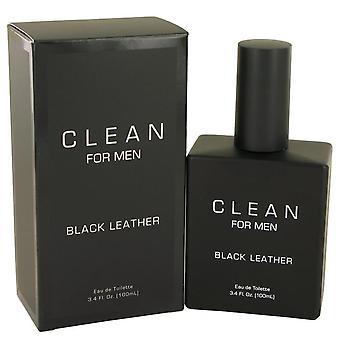 Schoon zwart leer eau de toilette spray door schone 537898 100 ml