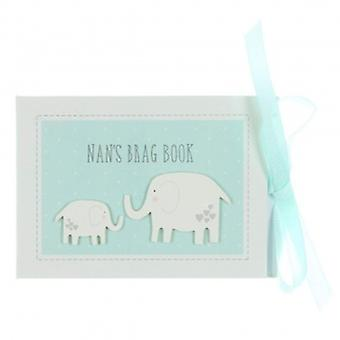 NANS Brag libro Photo Album Keepsake | Regalos de Handpicking