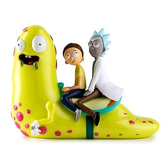 Rick and Morty Slippery Stair Medium Figure