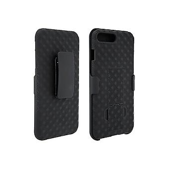 Verizon Shell Holster Combo for iPhone 8 Plus, 7 Plus, 6/6s Plus - Black