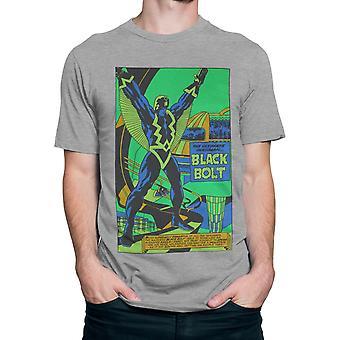 Zwarte bout zwart licht door Jack Kirby mannen ' s T-shirt